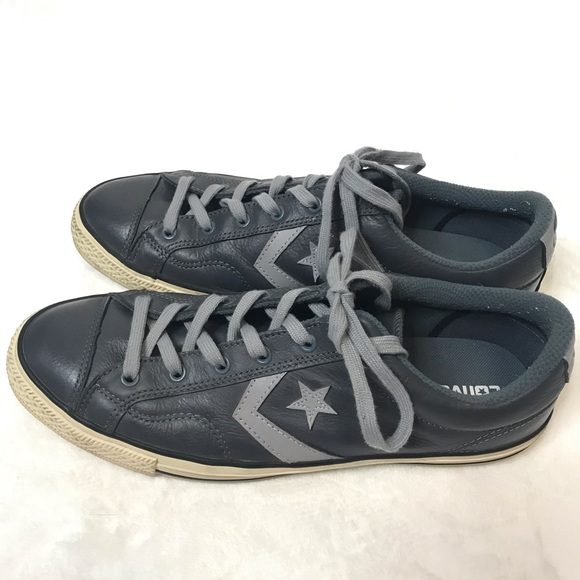 Converse Cons One Star Blue Gray Leather Mens 11